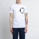 Мужская футболка Albam Factory Logo White фото- 3