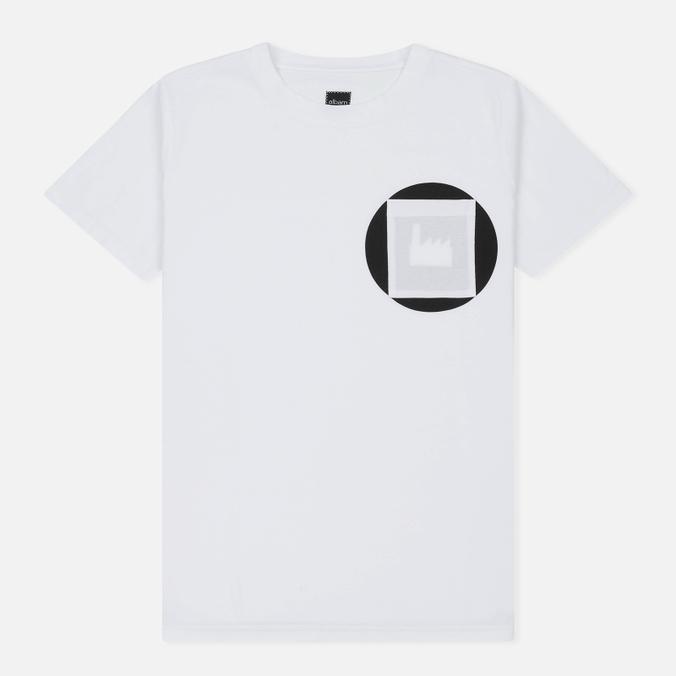 Мужская футболка Albam Factory Logo White