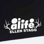 Мужская футболка Alife Antique Shells Black фото- 3