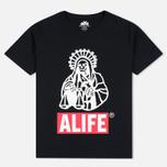 Мужская футболка Alife Brenden 2 SS Black фото- 0