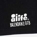 Мужская футболка Alife Brenden 2 SS Black фото- 3