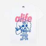Мужская футболка Alife Brenden White фото- 0