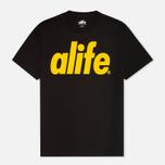 Мужская футболка Alife Core Life Black фото- 0