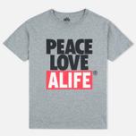 Мужская футболка Alife Crab Shack Heather Grey фото- 0