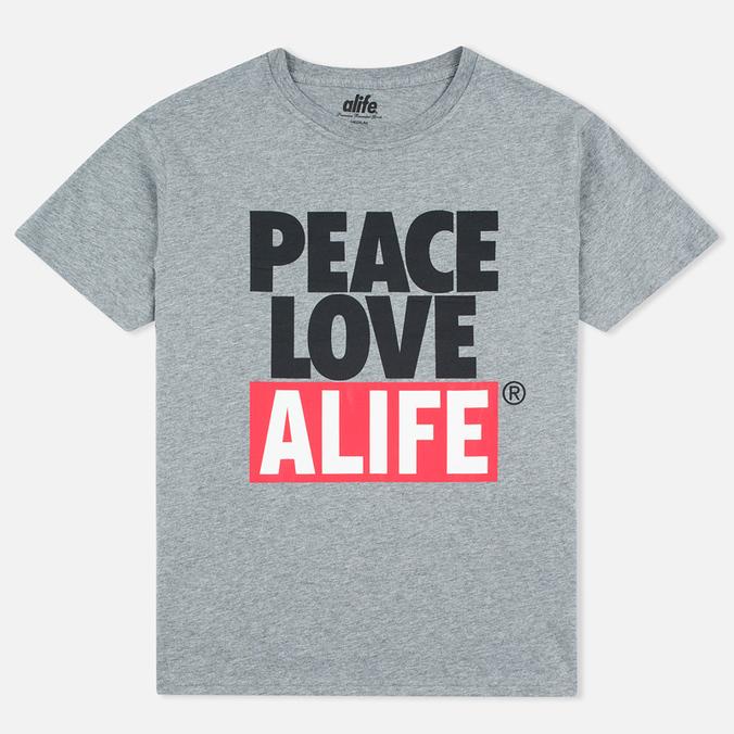 Мужская футболка Alife Crab Shack Heather Grey