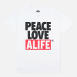 Мужская футболка Alife Crab Shack White фото- 0