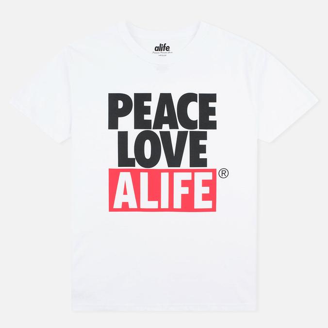 Мужская футболка Alife Crab Shack White