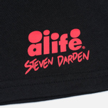 Alife Darden 2 SS Men's T-shirt Black photo- 3