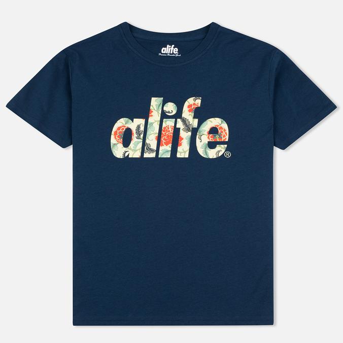 Мужская футболка Alife Floral Fill SS Navy