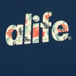 Мужская футболка Alife Floral Fill SS Navy фото- 2