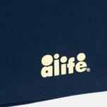 Мужская футболка Alife Floral Fill SS Navy фото- 3