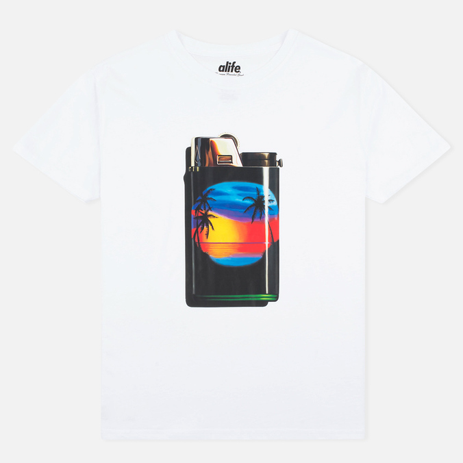 Мужская футболка Alife Light Vacation SS Premium White