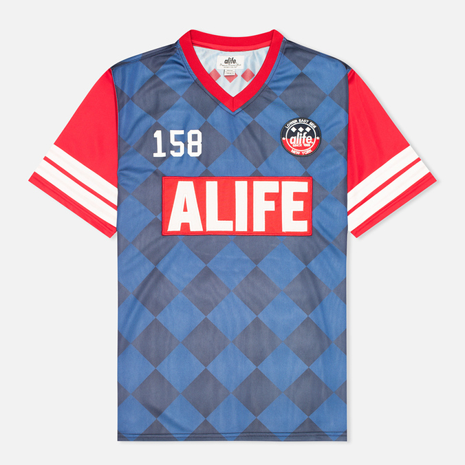 Мужская футболка Alife New Game Jersey Eclipse Blue