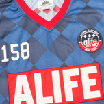 Мужская футболка Alife New Game Jersey Eclipse Blue фото- 3
