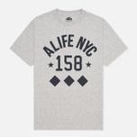 Мужская футболка Alife NYC Life Grey Heather фото- 0