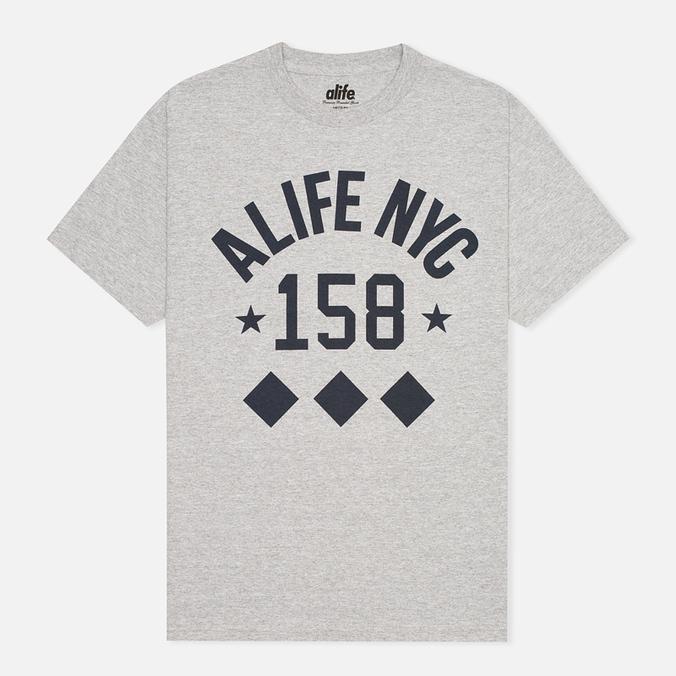 Мужская футболка Alife NYC Life Grey Heather