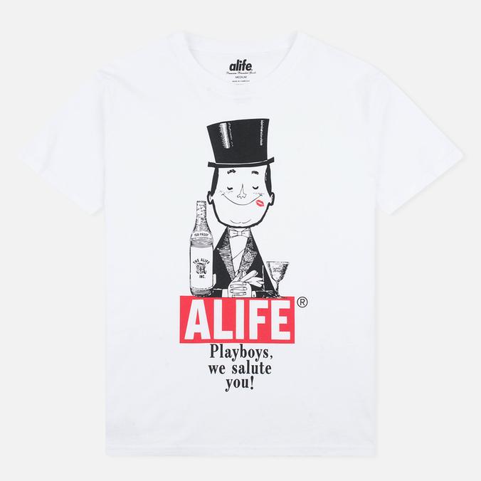 Мужская футболка Alife Playboys SS White