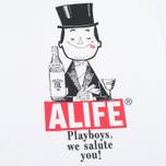 Мужская футболка Alife Playboys SS White фото- 2