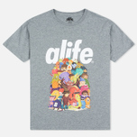 Мужская футболка Alife Steve Darden Heather Grey фото- 0