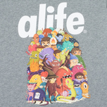 Мужская футболка Alife Steve Darden Heather Grey фото- 2