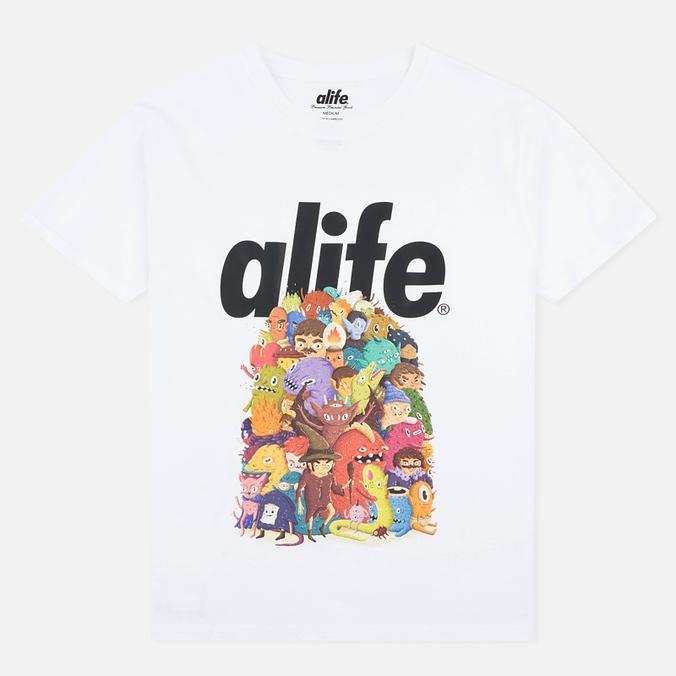 Мужская футболка Alife Steve Darden White