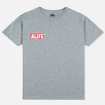 Alife Stuck Up Mag Men's T-shirt Heather Grey photo- 0