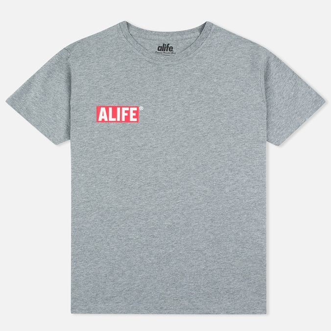 Alife Stuck Up Mag Men's T-shirt Heather Grey