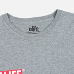 Alife Stuck Up Mag Men's T-shirt Heather Grey photo- 1