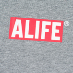 Alife Stuck Up Mag Men's T-shirt Heather Grey photo- 2