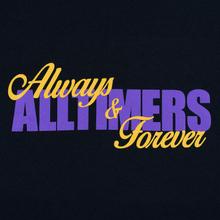 Мужская футболка Alltimers A And F Navy фото- 2