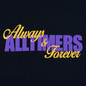 Мужская футболка Alltimers A And F Navy фото - 2