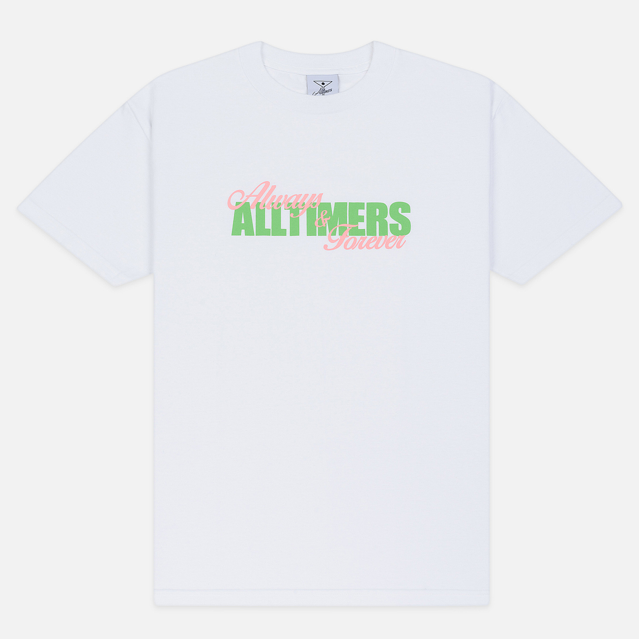 Мужская футболка Alltimers A And F White