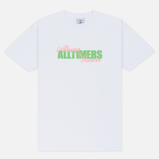 Мужская футболка Alltimers A And F White