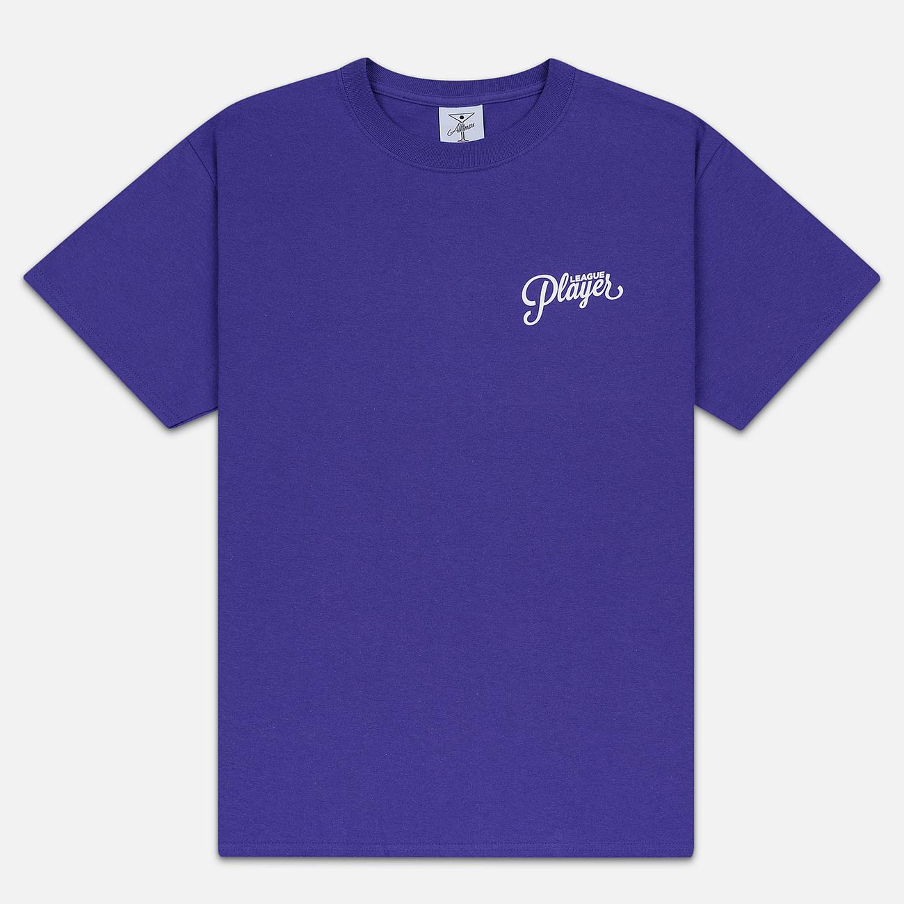 Мужская футболка Alltimers Chincilla Purple