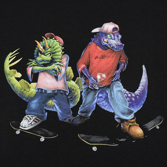 Мужская футболка Alltimers Fossil Gang Black