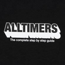 Мужская футболка Alltimers Guide To Life Black фото- 2