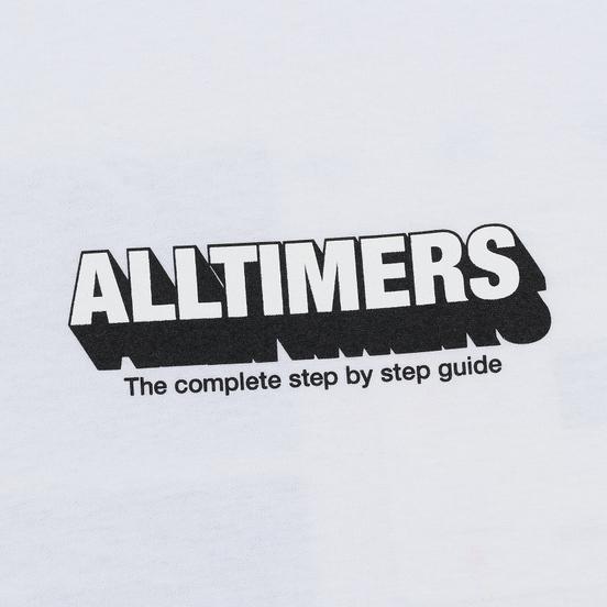Мужская футболка Alltimers Guide To Life White