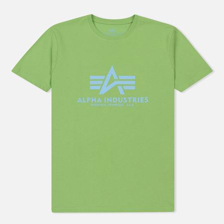 Мужская футболка Alpha Industries Basic Bright Green