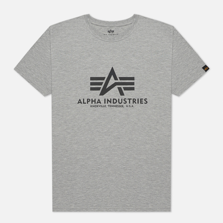 Мужская футболка Alpha Industries Basic Grey Heather
