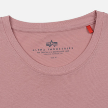 Мужская футболка Alpha Industries Basic Silver Pink фото- 1