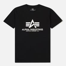 Мужская футболка Alpha Industries Basic Black фото- 0