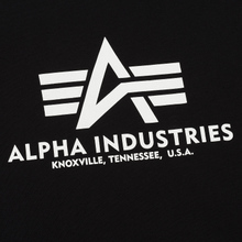 Мужская футболка Alpha Industries Basic Black фото- 2
