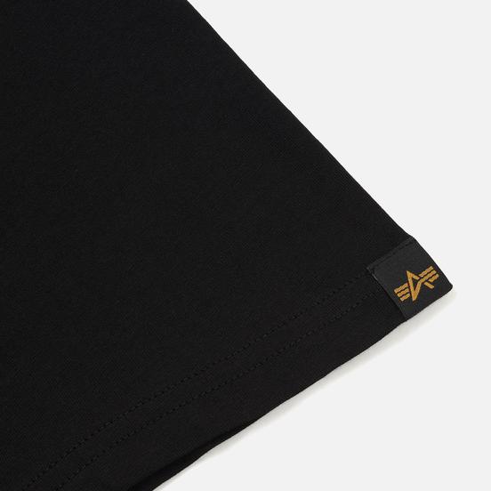 Мужская футболка Alpha Industries Basic Black