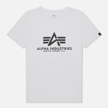 Мужская футболка Alpha Industries Basic White фото- 0