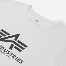 Мужская футболка Alpha Industries Basic White фото- 1