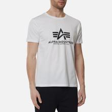 Мужская футболка Alpha Industries Basic White фото- 2