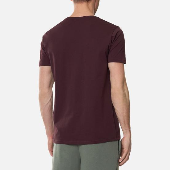 Мужская футболка Alpha Industries Basic Wine Red