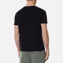 Мужская футболка Alpha Industries Nasa Reflective Black фото- 3