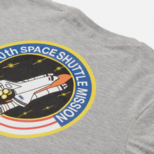 Мужская футболка Alpha Industries Nasa Space Shuttle Grey Heather фото- 2