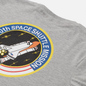 Мужская футболка Alpha Industries Nasa Space Shuttle Grey Heather фото - 2